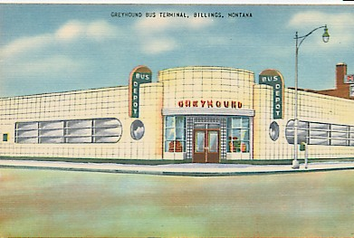 Greyhound bus station in billings montana
