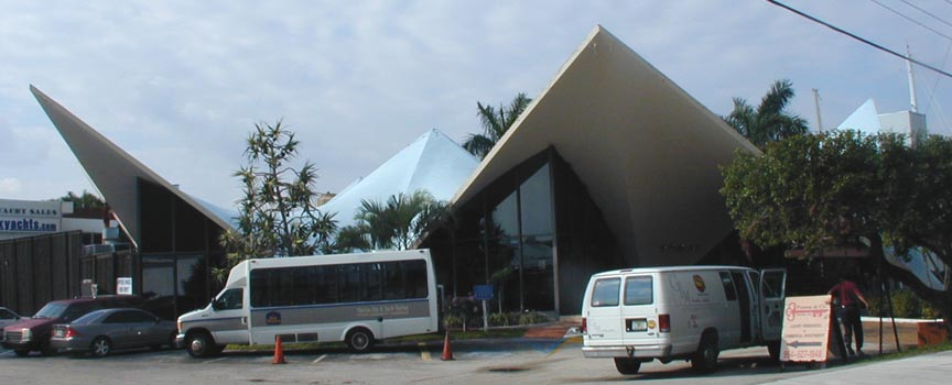 Florida mid century modern roofs canopies for Century motors of south florida
