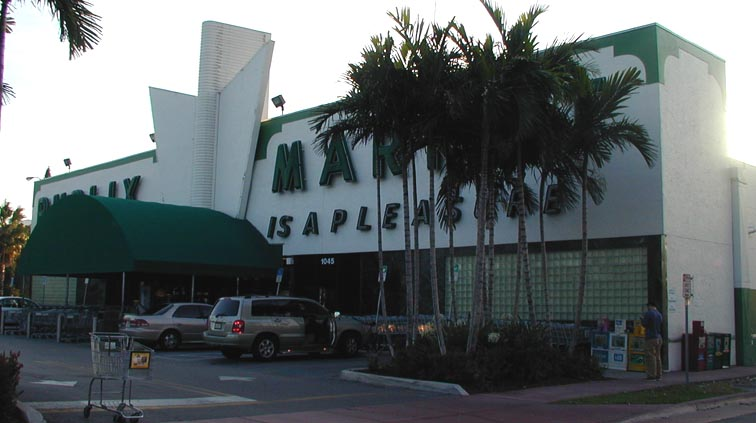 Florida Mid Century Modern Retail Buildings