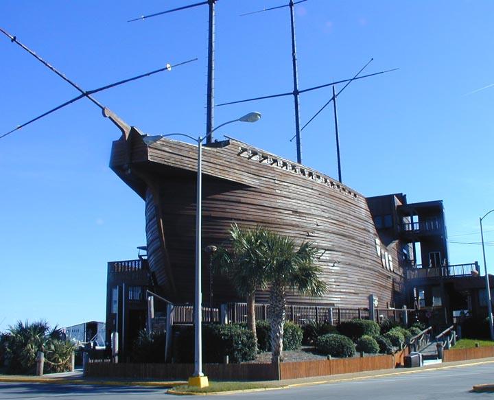 Pirate Ship Restaurant In Panama City Beach