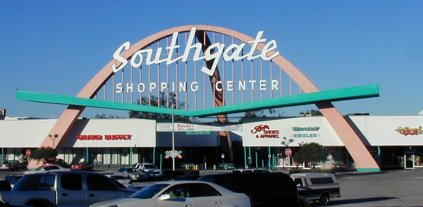 how to go southgate shoppingcenter