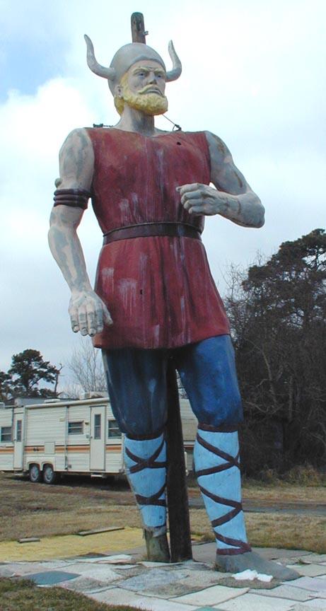 International Fiberglass Viking Statues