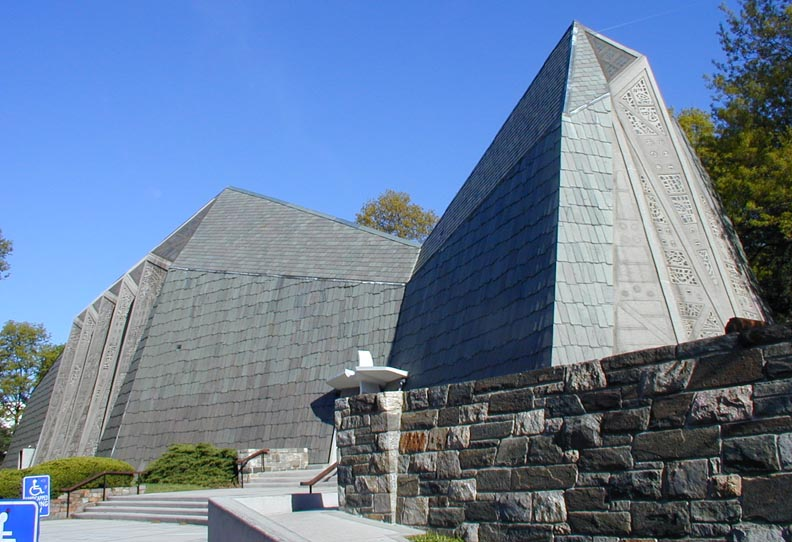 Connecticut Mid Century Modern Churches