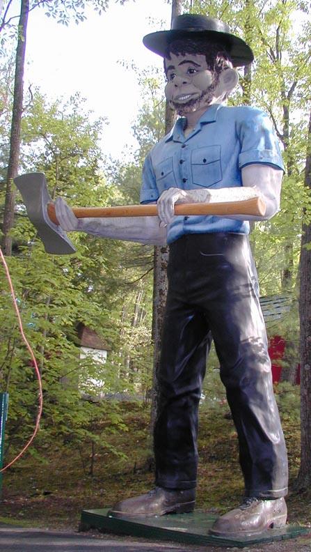 international fiberglass mortimer snerd statues