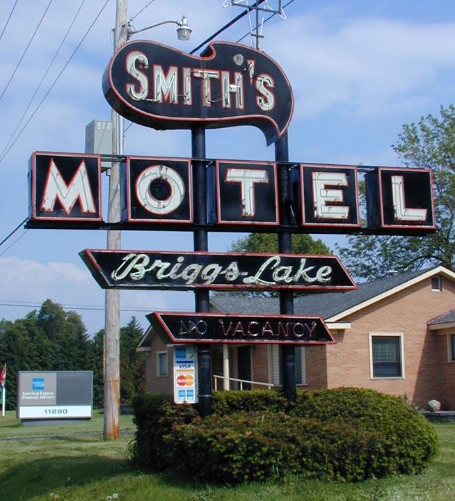 Brighton Mi Smith S Motel Briggs Lake Gone