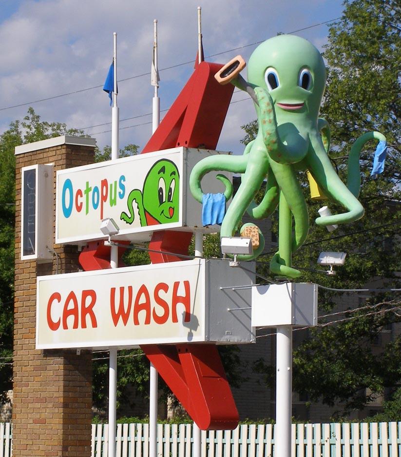Octopus Car Wash Madison Wi