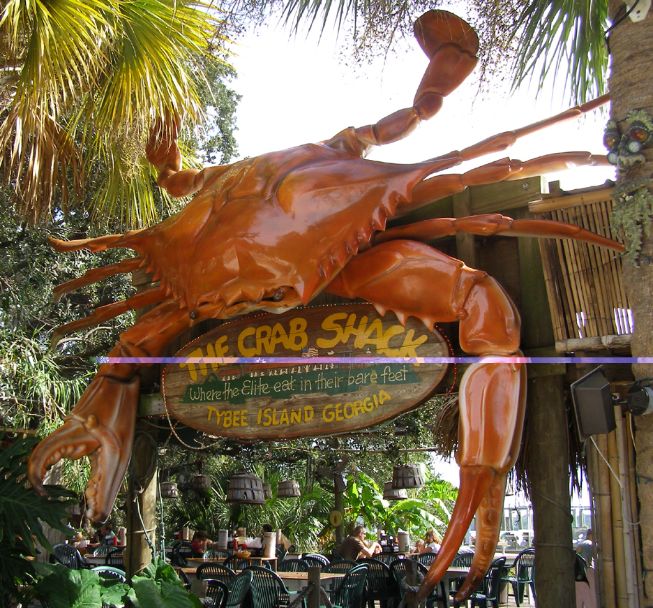 Crab Statues Roadsidearchitecture Com