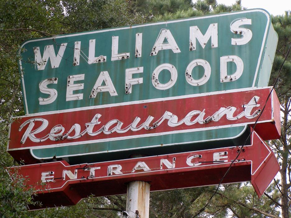 Georgia signs for Fish market savannah ga