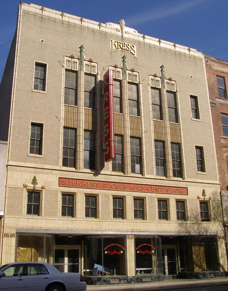 Mississippi Kress Store Buildings