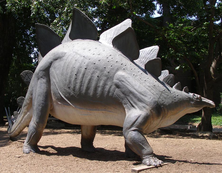 Ohio dinosaur statues Dinosaur museum ohio
