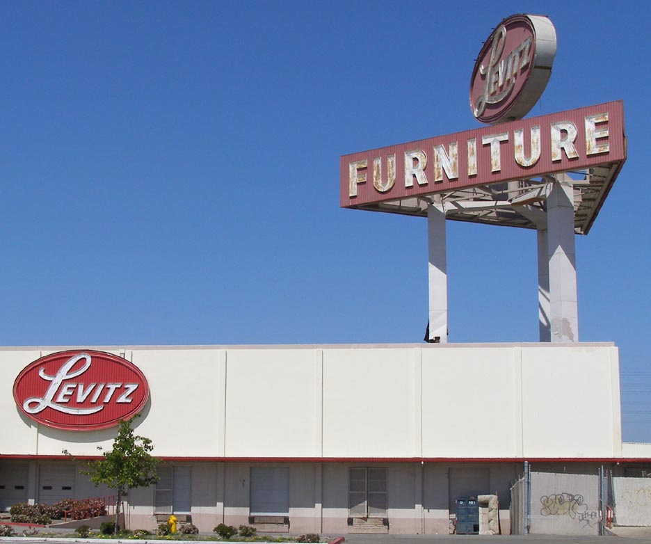 Charmant Hollister, CA, Levitz Furniture [gone]