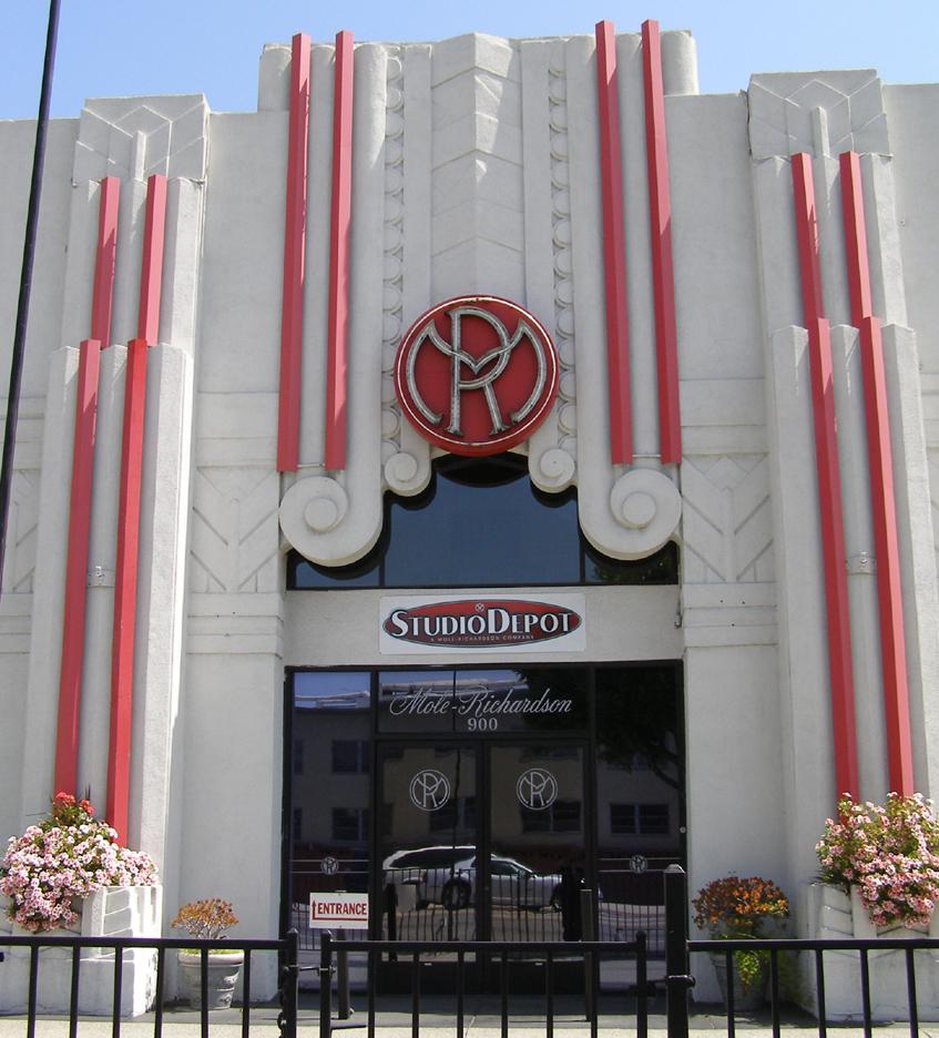 Los Angeles Art Deco Streamline Moderne Buildings