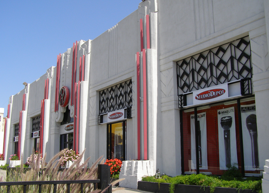 Los angeles art deco streamline moderne buildings for Deco moderne