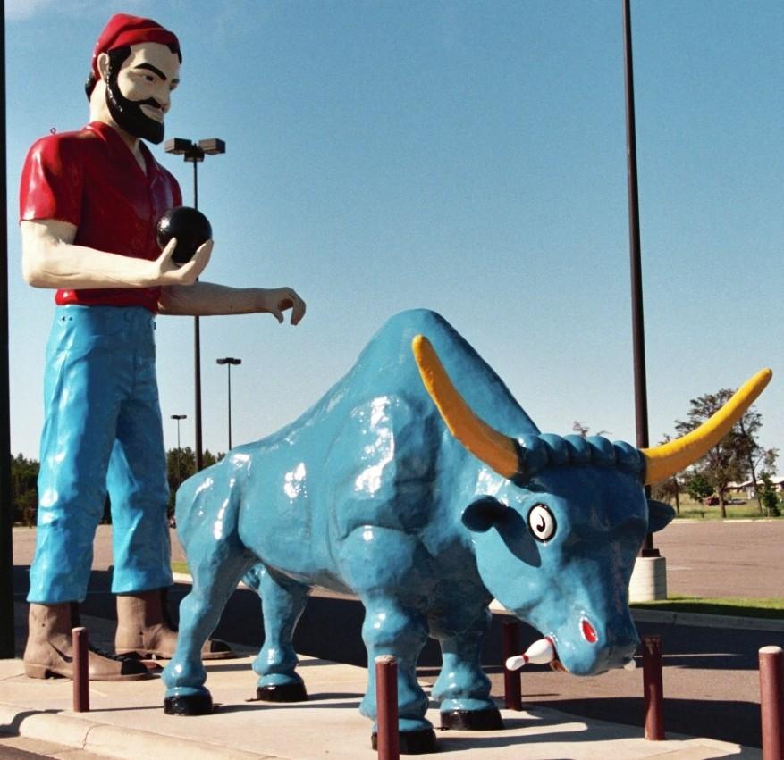 Brainerd Amp Baxter Paul Bunyan Statues