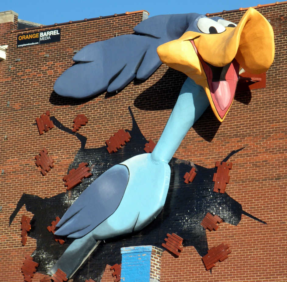 Birds Statues Roadsidearchitecture Com
