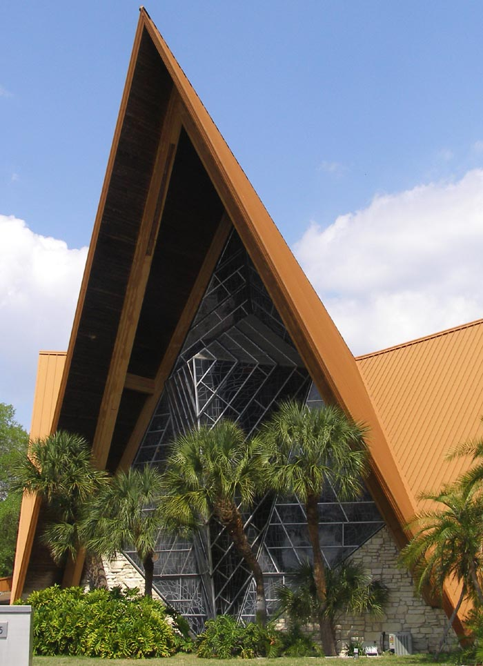 Florida Mid Century Modern Churches Roadsidearchitecture Com