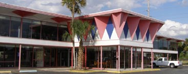 Florida Mid Century Modern Retail Buildings