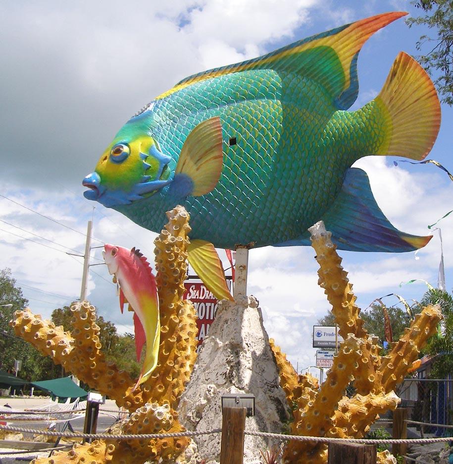 Fish Statues Roadsidearchitecture Com