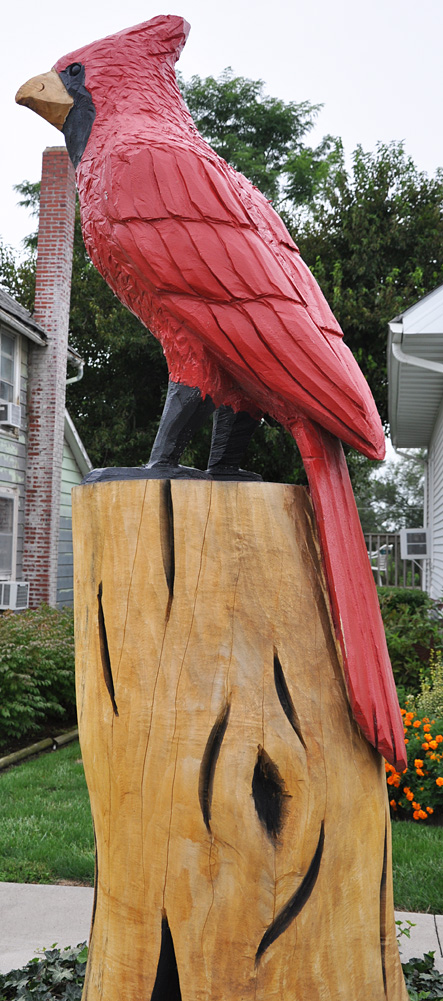 Birds statues roadsidearchitecture