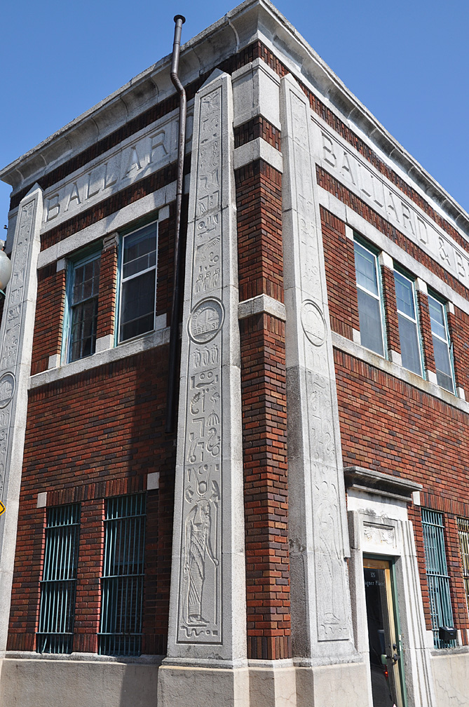 Tennessee Egyptian Revival Buildings | RoadsideArchitecture com