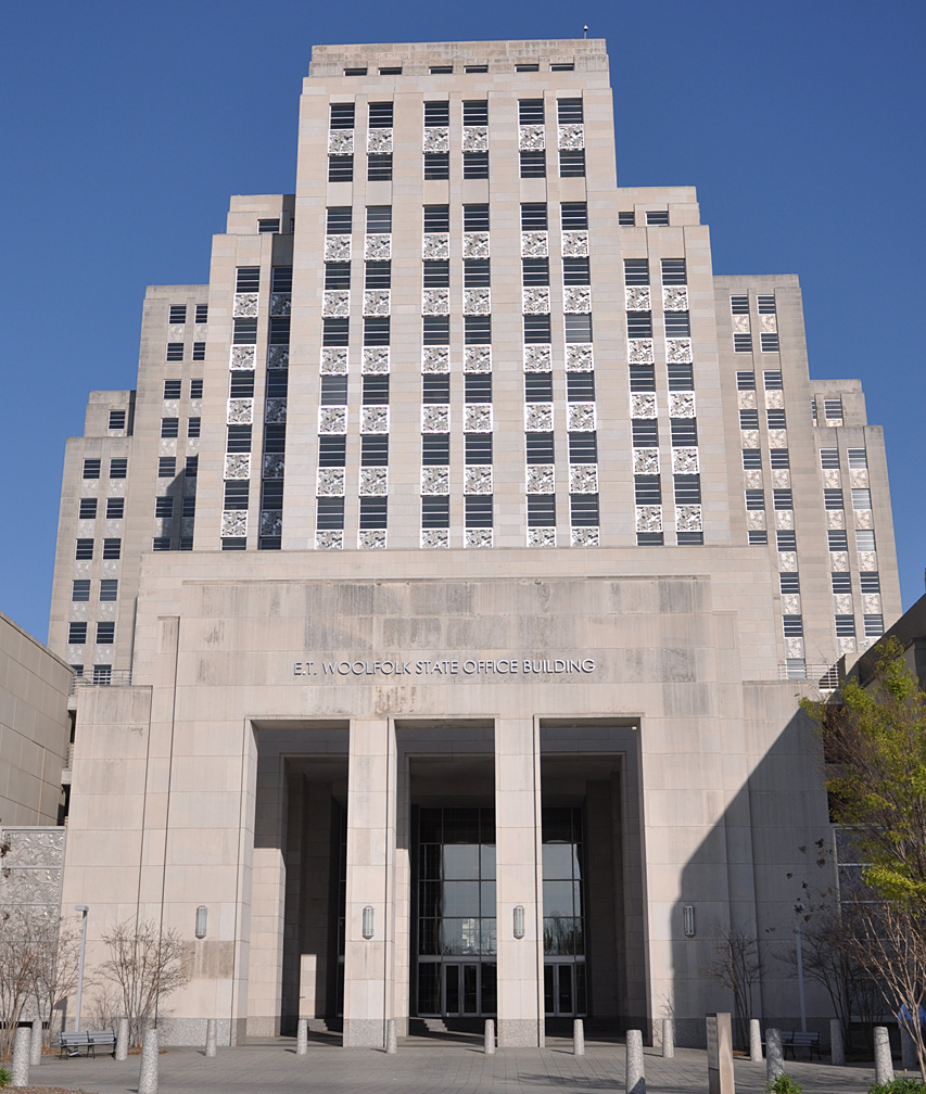 Mississippi Art Deco & Streamline Moderne Buildings