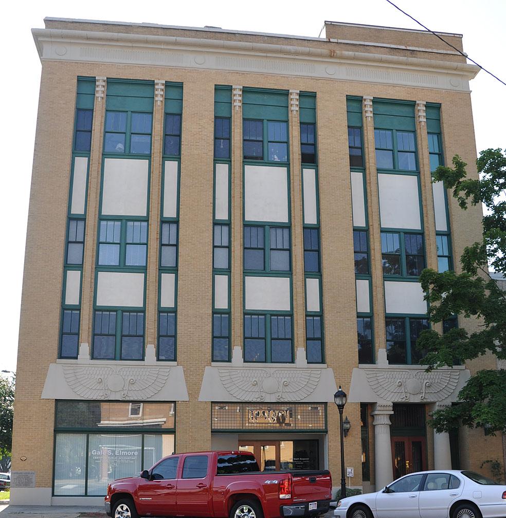 North Carolina Egyptian Revival Buildings