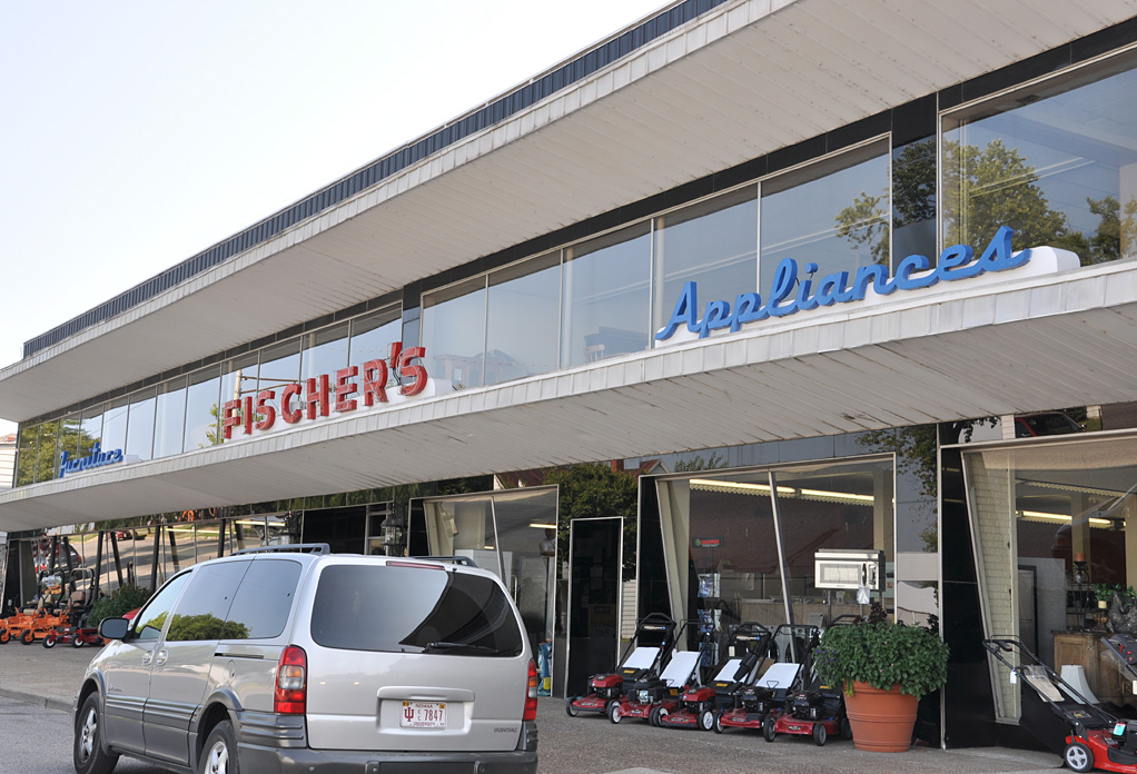Indiana Mid Century Modern Retail Buildings