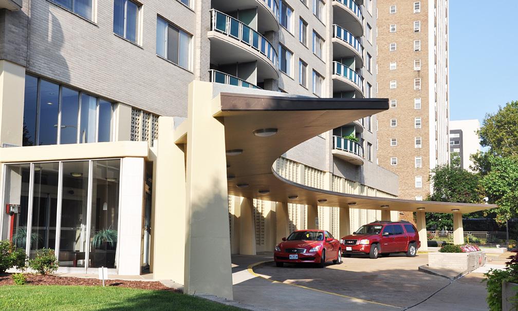 Jackson Arms Apartments St Louis