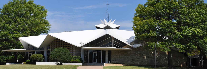 wichita ks saints churches kansas modern church catholic mid century
