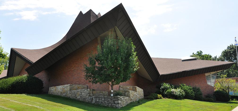 Kansas Mid Century Modern Churches Roadsidearchitecture Com