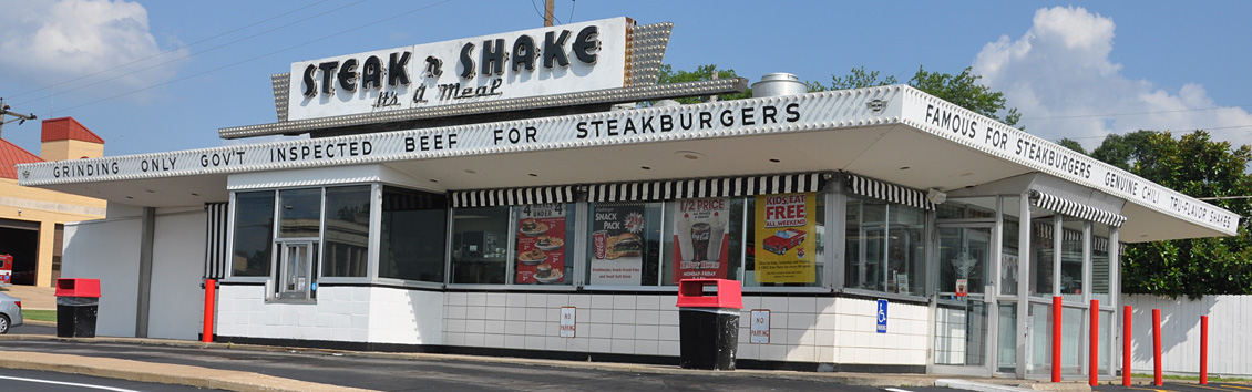Steak N Shake Restaurants Roadsidearchitecture Com