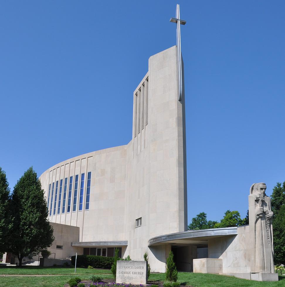 St Francis Xavier Church Junction City Ks