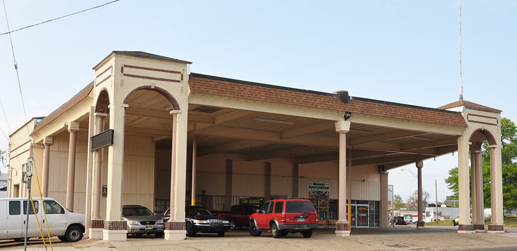 Texas Canopy Gas Stations