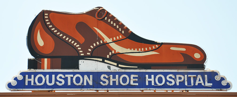 HOUSTON SHOE HOSPITAL in HOUSTON, TX - Shoes-Retail - Business