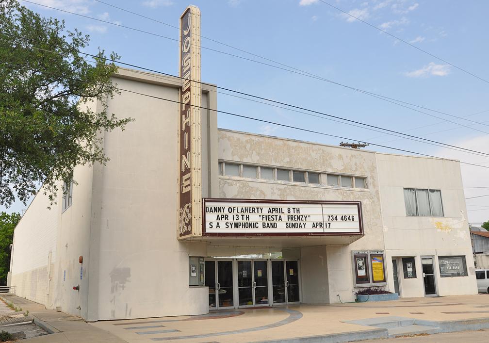 Texas Movie Theatres   RoadsideArchitecture.com Josephine Texas