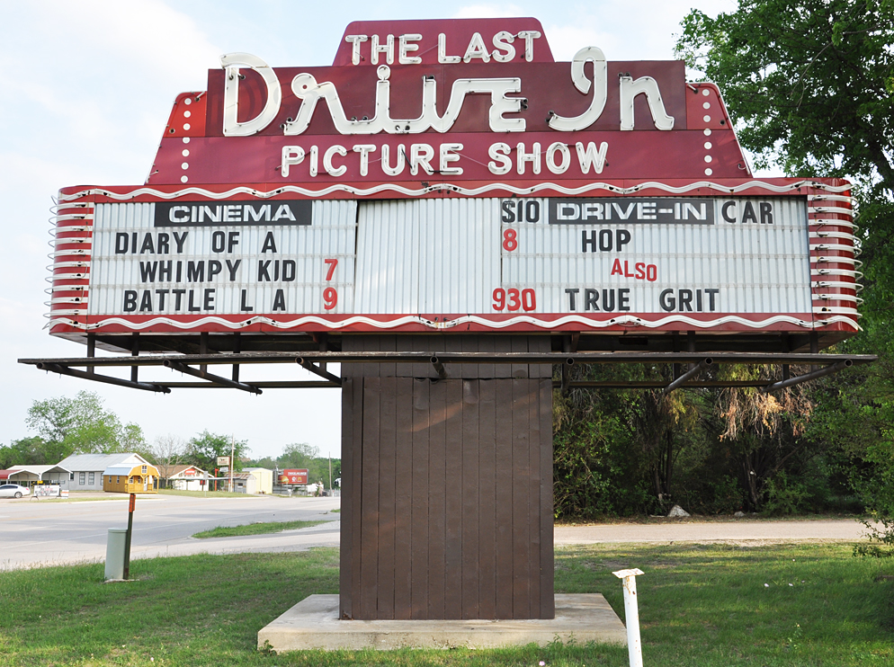 Last Drive In Picture Show Gatesville Texas Showtimes