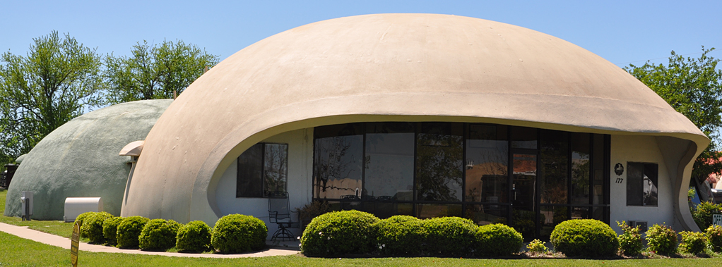 Image gallery monolithic concrete domes for Concrete homes texas