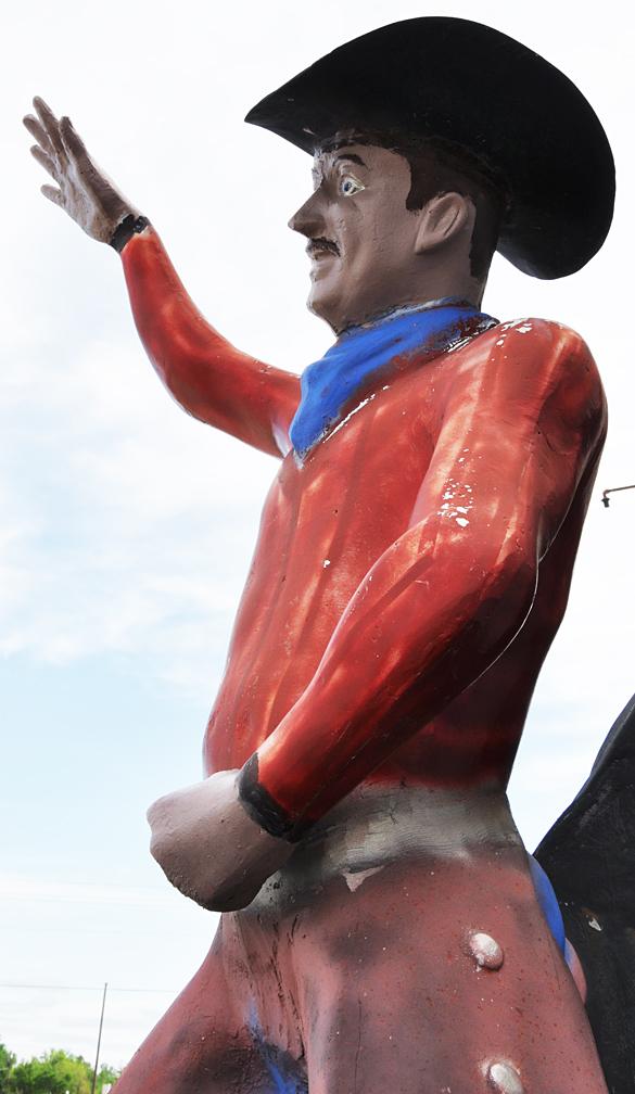 Cowboy Statues Roadsidearchitecture Com