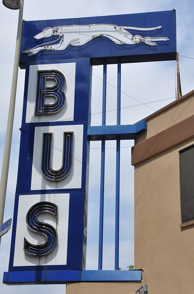 Texas Greyhound Bus Stations Roadsidearchitecture Com