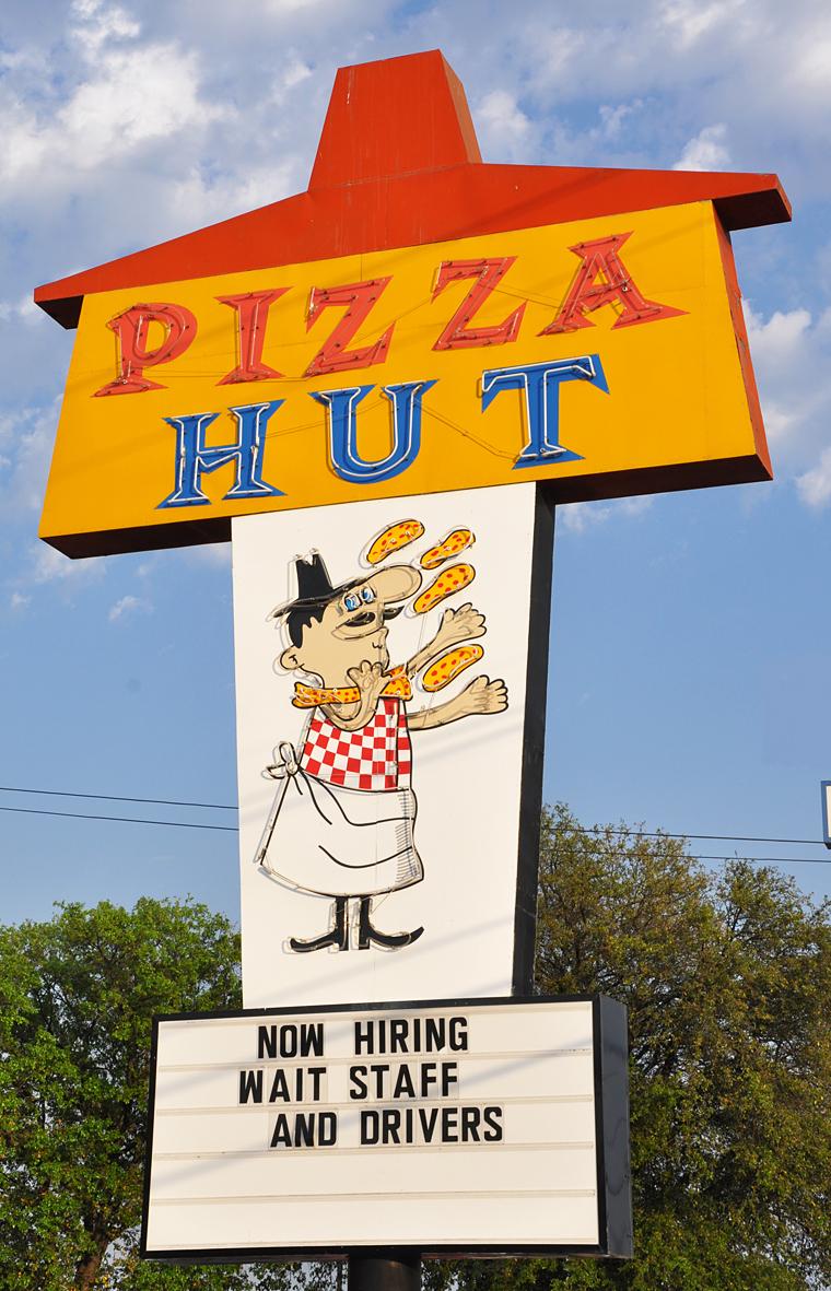 pizza chef signs roadsidearchitecture com san antonio tx pizza hut gone