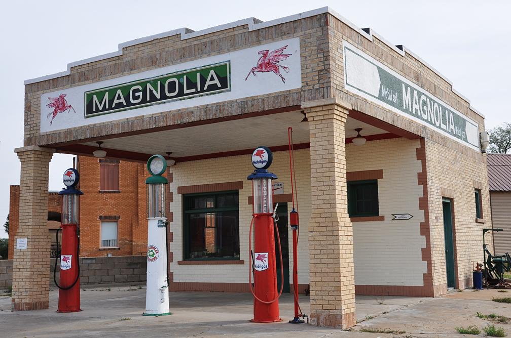 Texas Magnolia Gas Stations Roadsidearchitecture Com