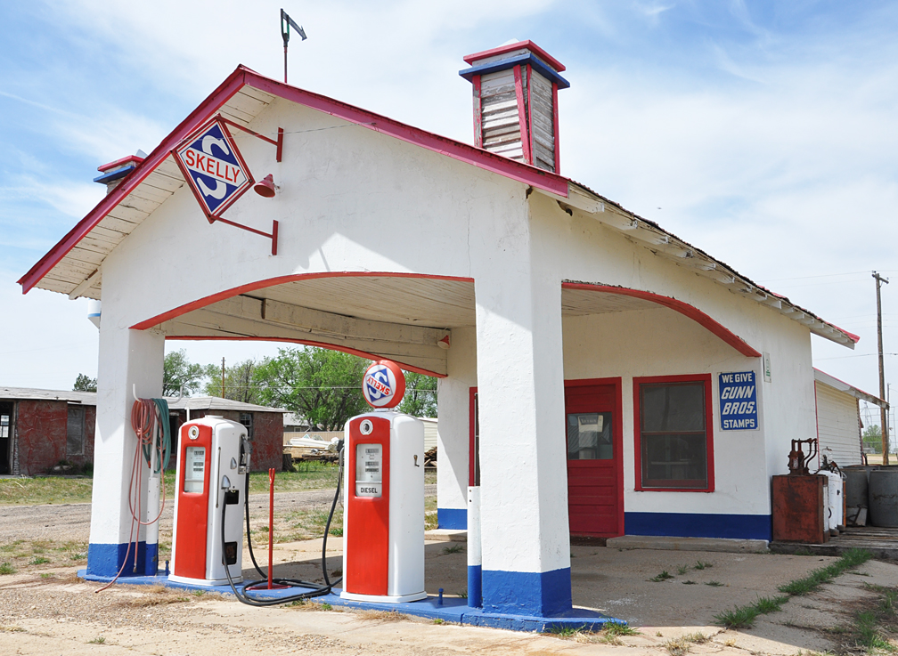 Texas Canopy Gas Stations Roadsidearchitecture Com