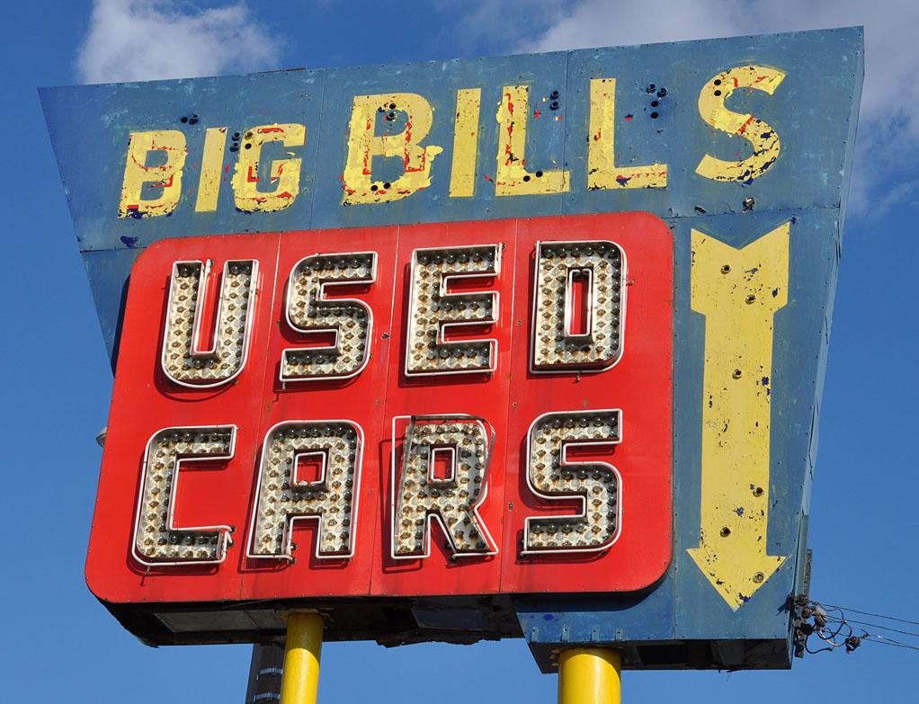 Bills Used Cars: RoadsideArchitecture.com