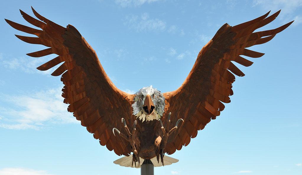 Eagle Statues Roadsidearchitecture Com