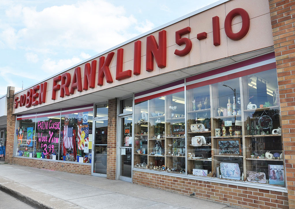 Ironwood Mi Ben Franklin