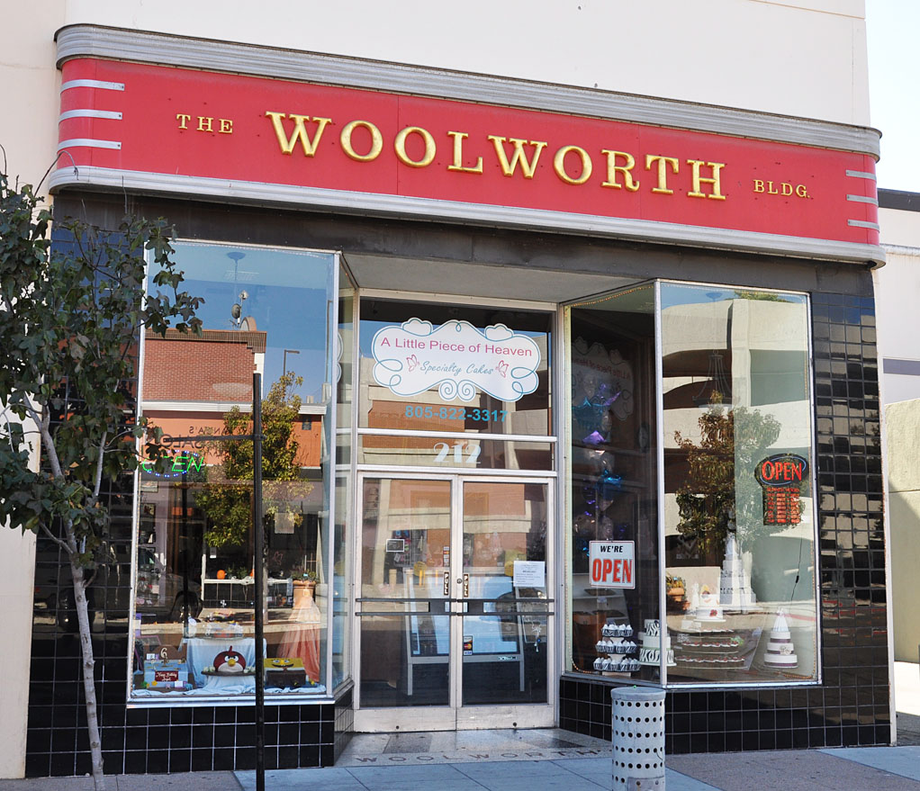 California Woolworth Store Buildings