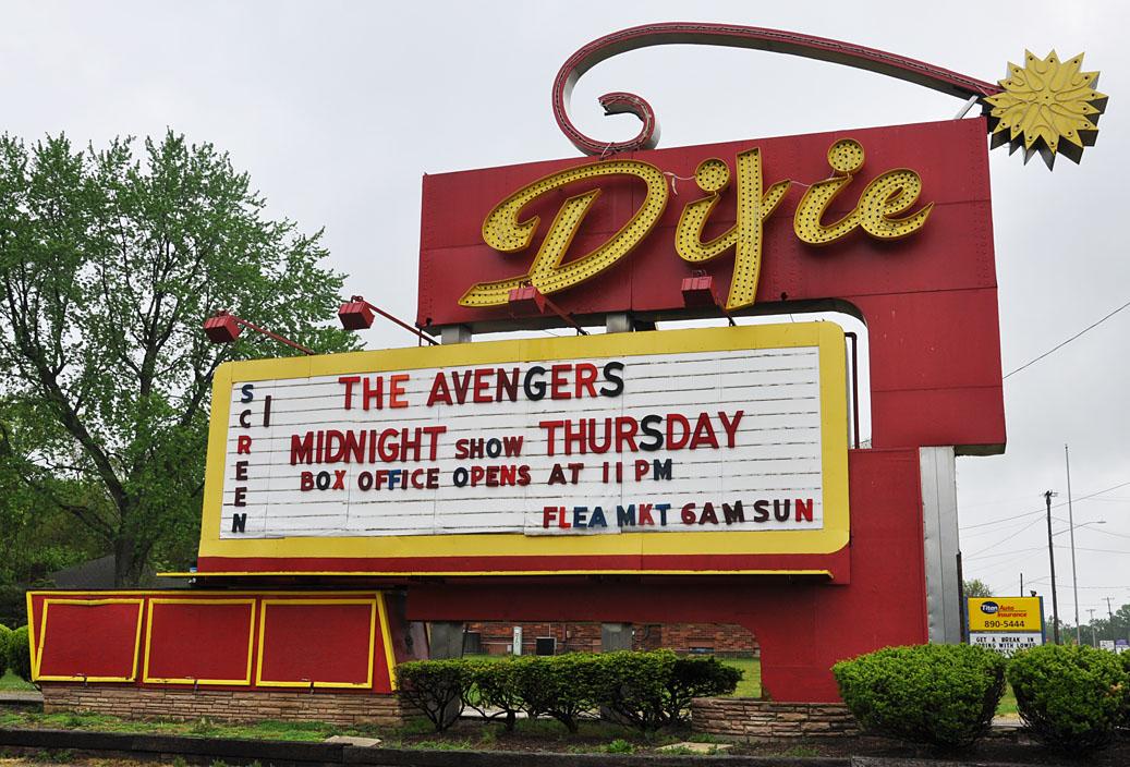 Dayton Oh Skyborn Drive In