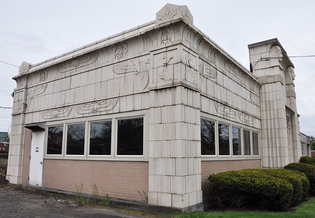 MS Jacobs Associates Occupies This Egyptian Revival Building I Believe It Was Built In 1920 As Part Of The Chartiers Cemetery Which Is