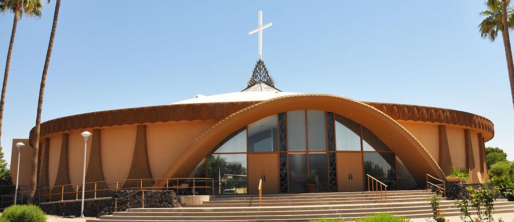 Arizona mid century modern churches - Trinity gardens church of christ ...