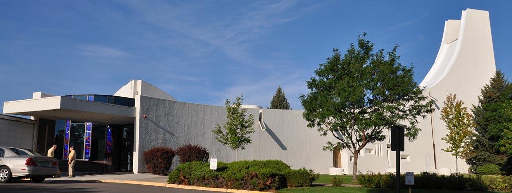 Denver mid century modern churches for Denver mid century modern